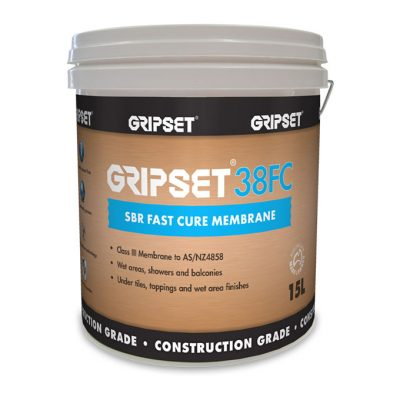 Gripset 38FC SBR Fast Cure Membrane 15L