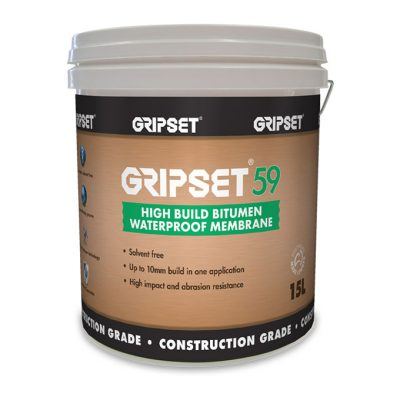 Gripset 59 High Build Bitumen 15L
