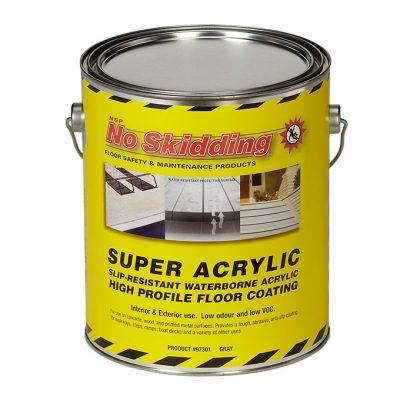 Super Acrylic, Slip Resistant Floor Coating