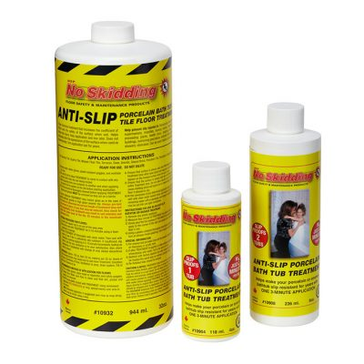 No Skidding D.I.Y. Anti-Slip Floor, Bathtub and Shower