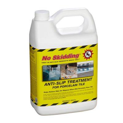 No Skidding Porcelain Anti-Slip Treatment