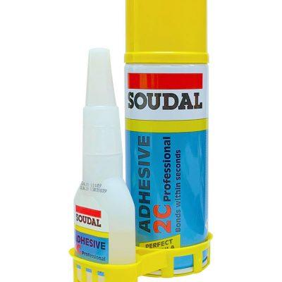 Soudal 2C Adhesive 110g / 400ml